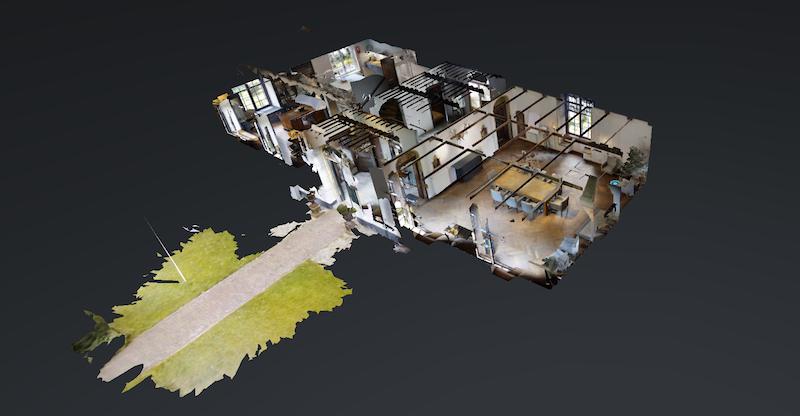 vergaderlocatie Huis te Zaanen - Haarlem - 3D